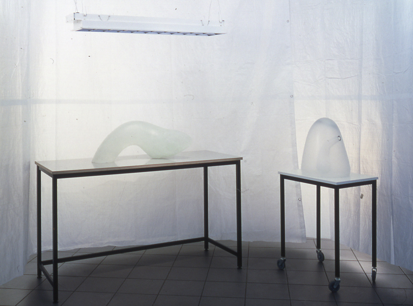 Emma Woffenden: Severed Installation, 1999.