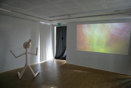 Emma Woffenden: Anima Animus, 2009. View of projection room showing Happy Ever After