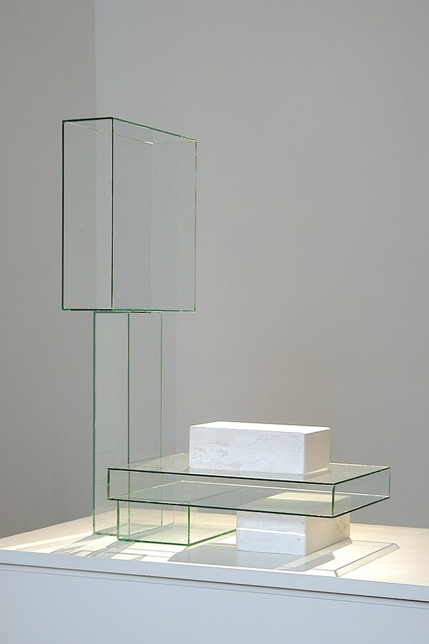 Emma Woffenden: Solo show, Barrett Marsden Gallery, 2004. Air Blocks