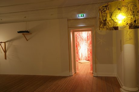 Emma Woffenden: Anima Animus with Tord Boontje, 2009. Exit to experiments. Shadow Light in foreground.