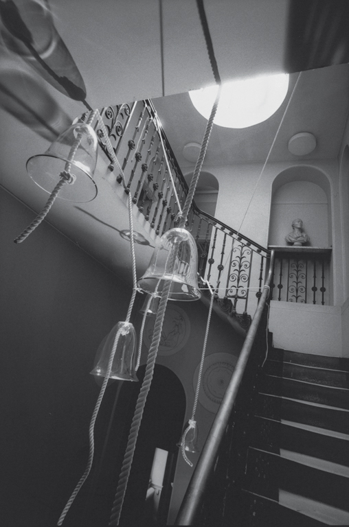Emma Woffenden: The Uncanny Room, 2002. Stairwell, Pitzhanger Manor