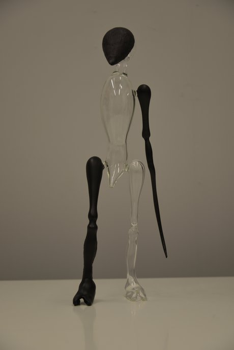 Emma Woffenden: Glass Figures and Symposium work, 2018.