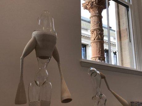 Emma Woffenden: Figure and Landscape. Film and sculpture, Zero Gravity. WHCP.