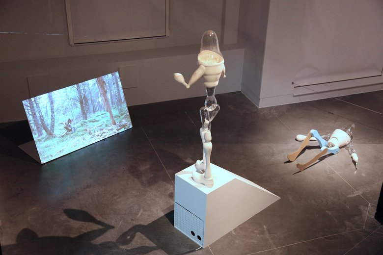 Emma Woffenden: Fell, 2019. Fell installation National centre for Craft and Design