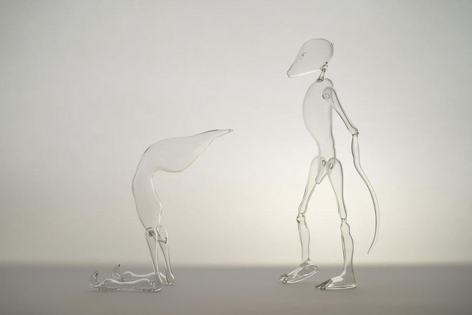 Emma Woffenden: Glass Figures, 2015.
