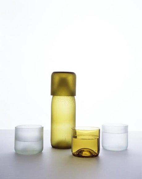 Emma Woffenden: tranSglass, 1997. transglass carafe.
