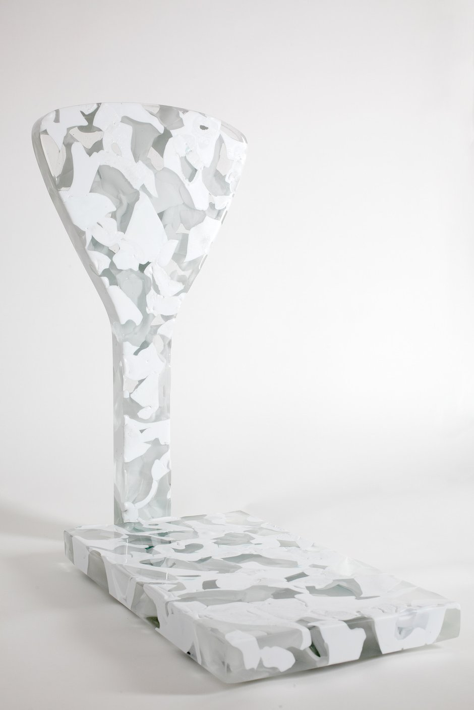 Emma Woffenden: Meltdown, 2011. dimensions 72x67x33 cms. Photo by Jon Spaul.