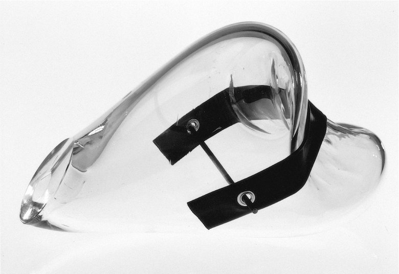Emma Woffenden: Glass objects, 1996–1998.