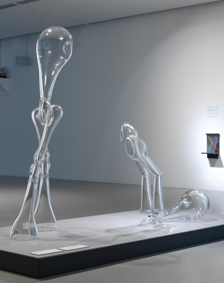 Emma Woffenden: Glass Figures, 2015. Glass Figures. Clarity exhibition.
